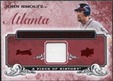 2008 Upper Deck UD A Piece of History Franchise History Jersey #FH4 John Smoltz