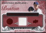 2008 Upper Deck UD A Piece of History Franchise History Jersey #FH6 Jonathan Papelbon