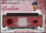 2008 Upper Deck UD A Piece of History Franchise History Jersey #FH9 Josh Beckett