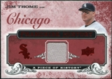2008 Upper Deck UD A Piece of History Franchise History Jersey #FH12 Jim Thome