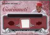 2008 Upper Deck UD A Piece of History Franchise History Jersey #FH13 Adam Dunn