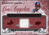 2008 Upper Deck UD A Piece of History Franchise History Jersey #FH27 Andruw Jones