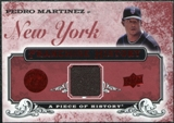 2008 Upper Deck UD A Piece of History Franchise History Jersey #FH32 Pedro Martinez