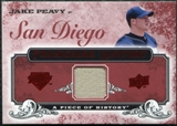 2008 Upper Deck UD A Piece of History Franchise History Jersey #FH44 Jake Peavy