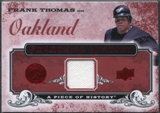 2008 Upper Deck UD A Piece of History Franchise History Jersey #FH49 Frank Thomas