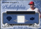 2008 UD A Piece of History Franchise History Jersey Blue #FH42 Chase Utley /25