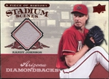 2008 Upper Deck UD A Piece of History Stadium Scenes Jerseys #SS1 Randy Johnson