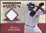 2008 Upper Deck UD A Piece of History Stadium Scenes Jerseys #SS6 David Ortiz