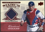 2008 Upper Deck UD A Piece of History Stadium Scenes Jerseys #SS19 Victor Martinez