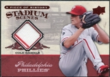 2008 Upper Deck UD A Piece of History Stadium Scenes Jerseys #SS41 Cole Hamels