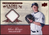2008 Upper Deck UD A Piece of History Stadium Scenes Jerseys #SS45 Jake Peavy