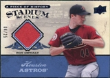 2008 UD A Piece of History Stadium Scenes Jersey Blue #SS26 Roy Oswalt /25