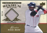 2008 Upper Deck UD A Piece of History Stadium Scenes Jersey Gold #SS6 David Ortiz /99