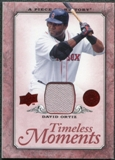 2008 Upper Deck UD A Piece of History Timeless Moments Jersey #6 David Ortiz