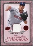 2008 Upper Deck UD A Piece of History Timeless Moments Jersey #9 Curt Schilling