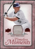 2008 Upper Deck UD A Piece of History Timeless Moments Jersey #19 Matt Holliday