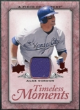 2008 Upper Deck UD A Piece of History Timeless Moments Jersey #23 Alex Gordon