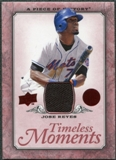 2008 Upper Deck UD A Piece of History Timeless Moments Jersey #30 Jose Reyes