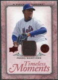 2008 Upper Deck UD A Piece of History Timeless Moments Jersey #32 Pedro Martinez