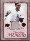 2008 Upper Deck UD A Piece of History Timeless Moments Jersey #35 Derek Jeter