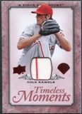 2008 Upper Deck UD A Piece of History Timeless Moments Jersey #41 Cole Hamels