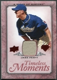 2008 Upper Deck UD A Piece of History Timeless Moments Jersey #42 Jake Peavy