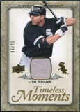 2008 Upper Deck UD A Piece of History Timeless Moments Jersey Gold #13 Jim Thome /75