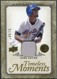 2008 Upper Deck UD A Piece of History Timeless Moments Jersey Gold #30 Jose Reyes /75