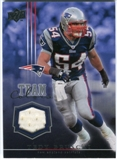 2008 Upper Deck Team Colors Jerseys #TCTB Tedy Bruschi