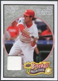 2008 Upper Deck Heroes Jersey Charcoal #135 Chase Utley