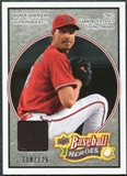 2008 Upper Deck Heroes Jersey Black #5 Randy Johnson /125