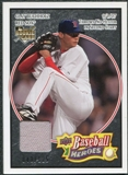 2008 Upper Deck Heroes Jersey Black #29 Clay Buchholz /125