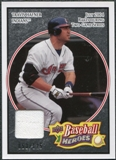 2008 Upper Deck Heroes Jersey Black #54 Travis Hafner /125