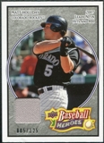 2008 Upper Deck Heroes Jersey Black #56 Matt Holliday /125