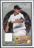 2008 Upper Deck Heroes Jersey Black #113 Phil Hughes /125