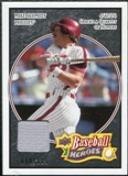 2008 Upper Deck Heroes Jersey Black #138 Mike Schmidt /125