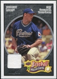 2008 Upper Deck Heroes Jersey Black #144 Jake Peavy /125