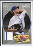 2008 Upper Deck Heroes Jersey Black #150 Rich Hill /125