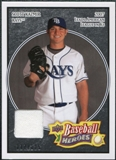 2008 Upper Deck Heroes Jersey Black #166 Scott Kazmir /125