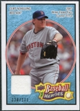 2008 Upper Deck Heroes Jersey Light Blue #26 Curt Schilling /200