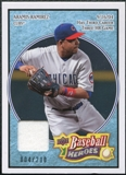 2008 Upper Deck Heroes Jersey Light Blue #40 Aramis Ramirez /200