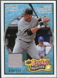 2008 Upper Deck Heroes Jersey Light Blue #42 Jim Thome /200