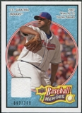 2008 Upper Deck Heroes Jersey Light Blue #53 C.C. Sabathia /200