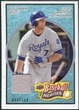 2008 Upper Deck Heroes Jersey Light Blue #79 Alex Gordon /200