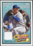 2008 Upper Deck Heroes Jersey Light Blue #94 Chad Billingsley /200