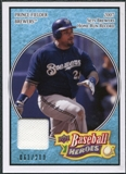 2008 Upper Deck Heroes Jersey Light Blue #96 Prince Fielder /200