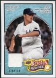 2008 Upper Deck Heroes Jersey Light Blue #113 Phil Hughes /200