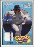 2008 Upper Deck Heroes Jersey Light Blue #125 Don Mattingly /200