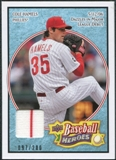 2008 Upper Deck Heroes Jersey Light Blue #136 Cole Hamels /200
