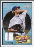 2008 Upper Deck Heroes Jersey Light Blue #150 Rich Hill /200